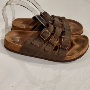 Birkenstock Betula Florida Brown 3 strap sandals